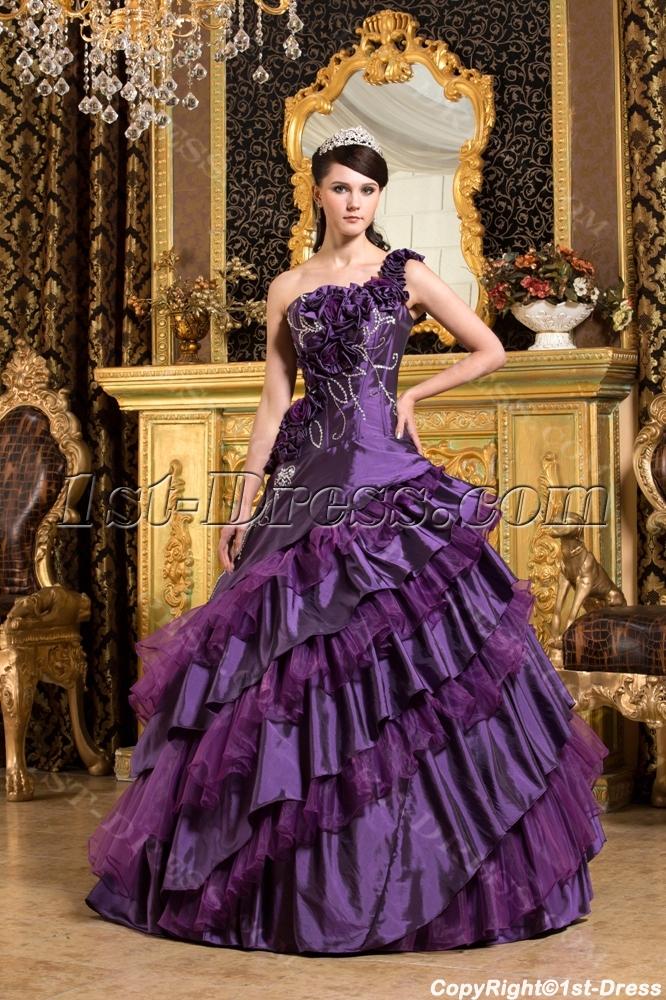 images/201309/big/Purple-One-Shoulder-Vestidos-de-Quinceanera-2011-with-Flowers-2799-b-1-1378204548.jpg