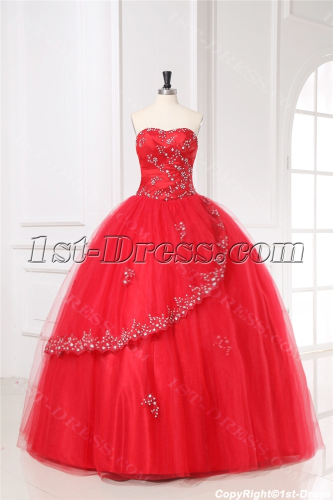 images/201309/big/Red-Puffy-Quinceanera-Gown-Dress-2011-with-Sweetheart-3113-b-1-1380452333.jpg