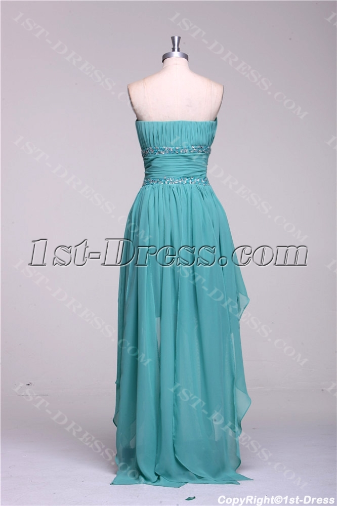 fdcdee12985 Sage High Low Prom Dresses under 200 Dollars (Free Shipping)