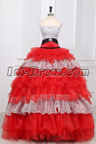 Beautiful Multi-Color Puffy Quinceanera Dresses