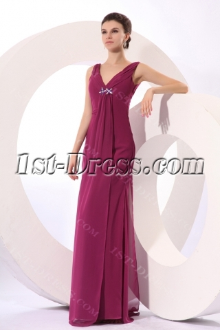 Formal Fuchsia Mother of Groom Dresses Fall 2012