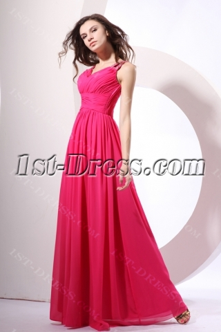 Pretty Ruched A-line V-Neck Formal Wear for the Full Figured Women