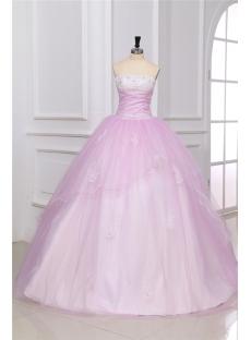 Elegant Baby Pink Sweet 16 Dresses