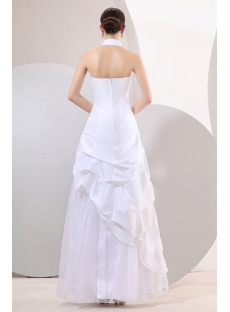 Ivory Halter Western 15 Quinceanera Gown