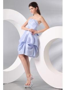 Lilac Short Bubble Junior Party Gown under 100