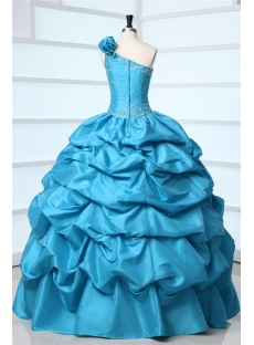 images/201310/small/One-Shoulder-Turquoise-Pick-up-Masquerade-Ball-Gown-3156-s-1-1381313155.jpg