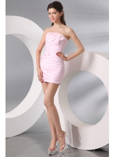Pink Mini Sheath Cocktail Dress Cheap under 100