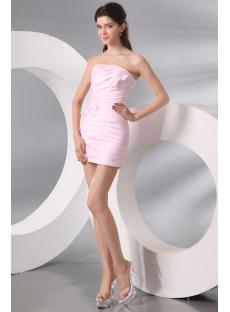 Pink Mini Sheath Cocktail Dress Cheap under 100