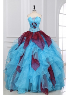 Pretty Multi-color Quinceanera Dresse