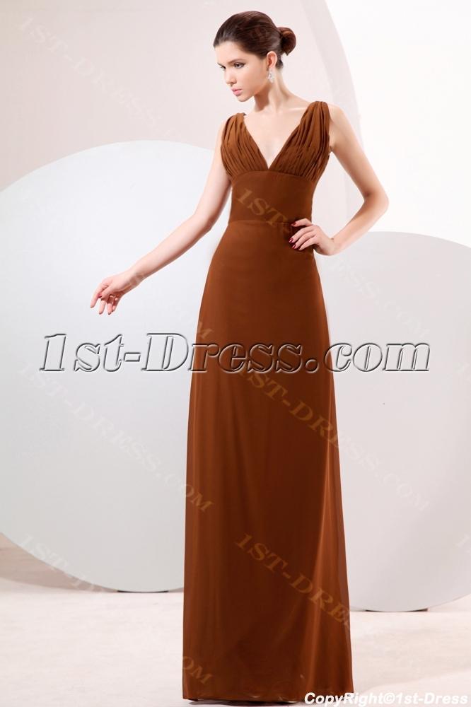 images/201310/big/Brown-Plunge-V-neckline-Column-Homecoming-Dress-3185-b-1-1381918472.jpg