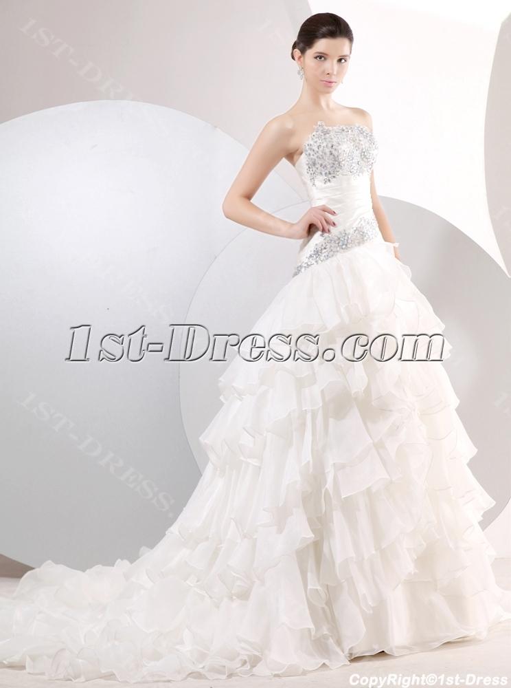 Charming Drop Waist A Line Floor Length Princess Ball Gown Dress Loading Zoom