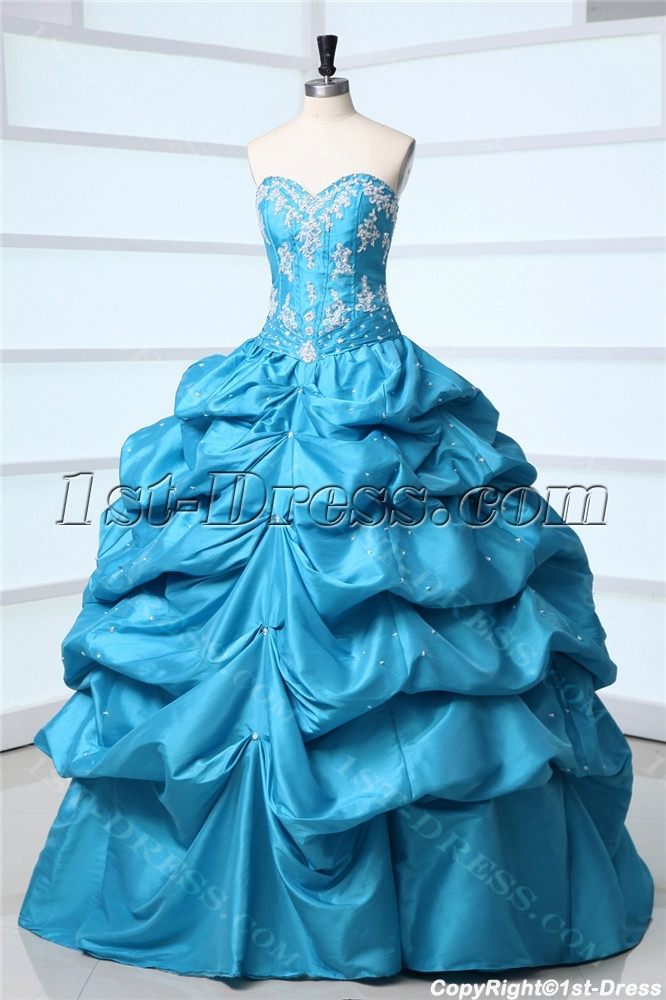 images/201310/big/Cheap-Blue-Taffeta-Sweetheart-Long-Quince-Ball-Gown-Dress-3157-b-1-1381410527.jpg
