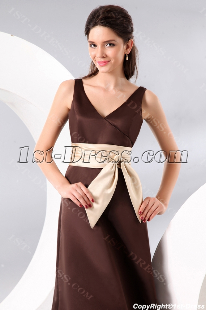 images/201310/big/Chocolate-Ankle-Length-Satin-Bridesmaid-Dress-with-Bow-3214-b-1-1382364683.jpg