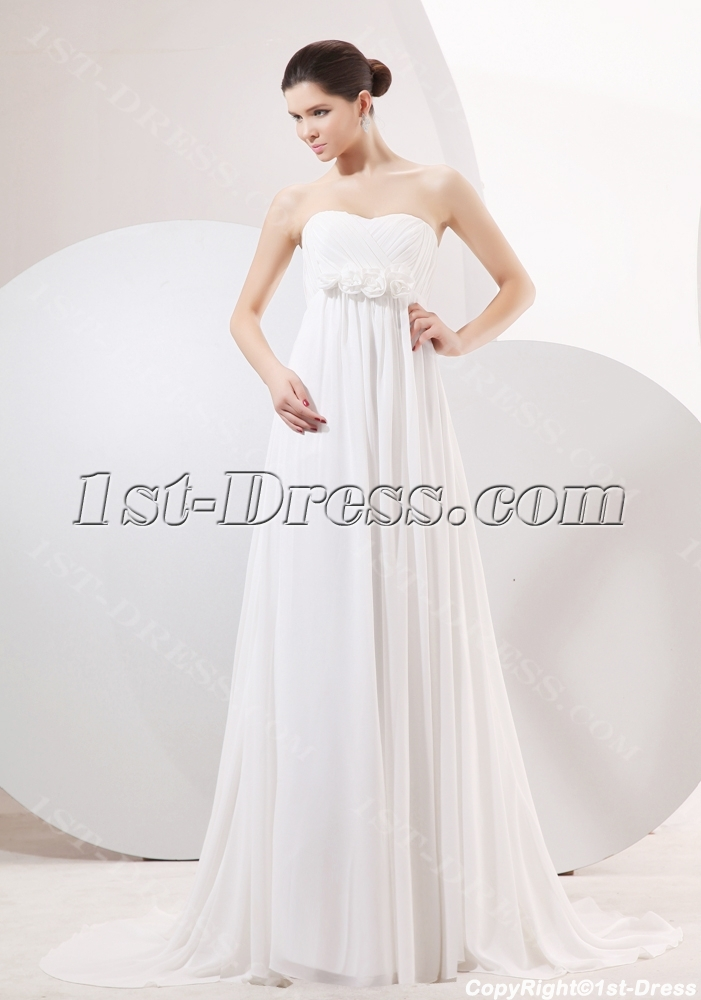 images/201310/big/Elegant-Chiffon-Empire-Maternity-Wedding-Gowns-with-Train-3184-b-1-1381917322.jpg