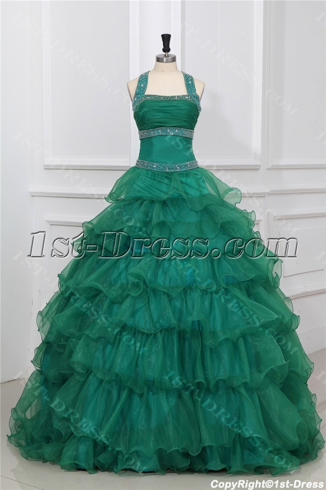 images/201310/big/Forest-Green-Halter-Puffy-Princess-Quinceanera-Dresses-3137-b-1-1380615714.jpg