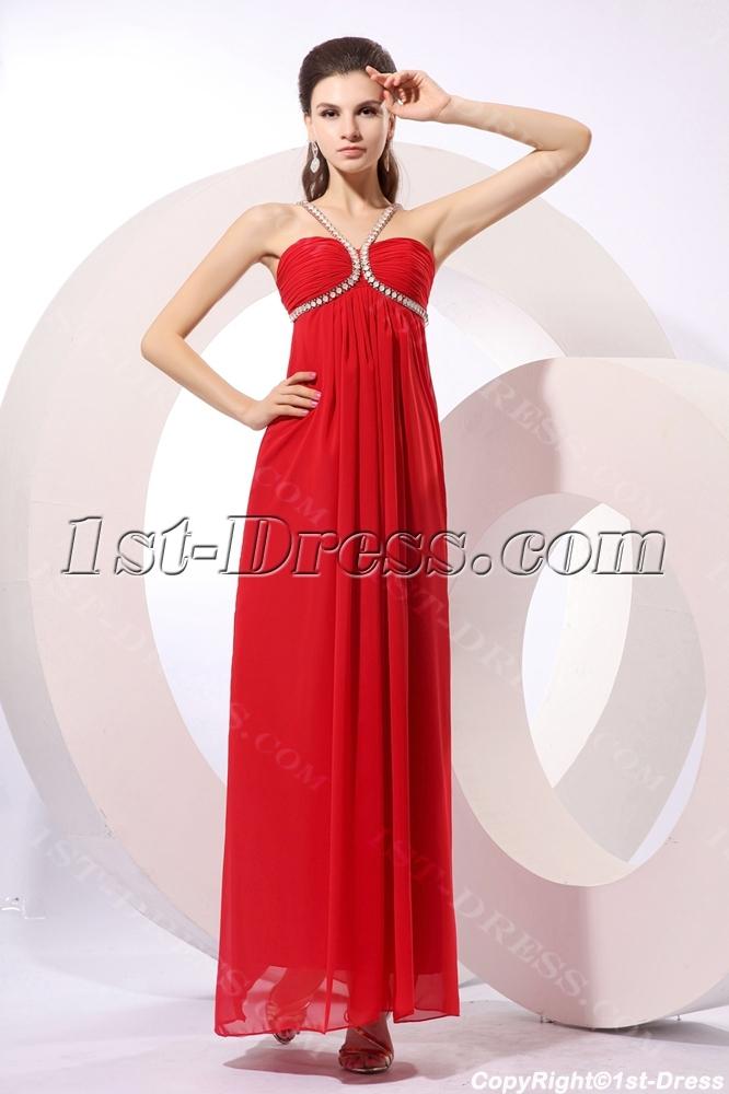 images/201310/big/Red-Long-Chiffon-Beaded-Pregnant-Cocktail-Dress-3268-b-1-1382970917.jpg