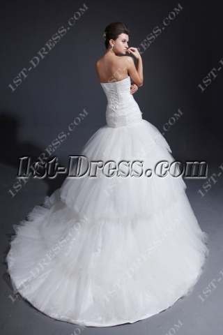 2014 Exquisite Mermaid Bridal Gowns with Sweetheart