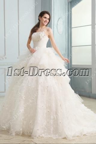 Graceful Cinderella 2013 Bridal Gowns