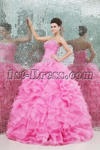 Romantic 2014 vestidos de quinceanera with Sweetheart