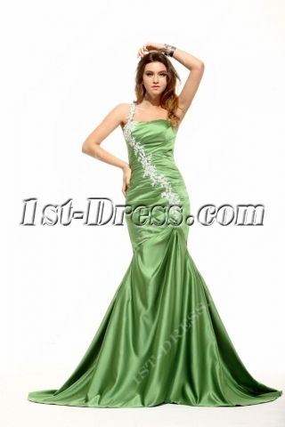 Sage Hater Mermaid 2014 Prom Dress