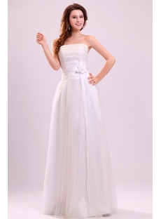 Cheap Long Tulle Quinceanera Dress with Waistband
