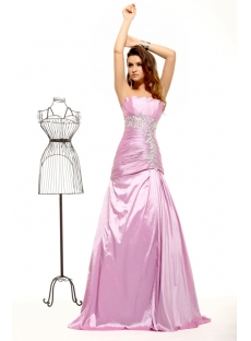 Discount Long Taffeta Elegant A-line Evening Dress