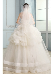 Fantastic Sweetheart Casual Ball Gown Wedding Dress with Corset