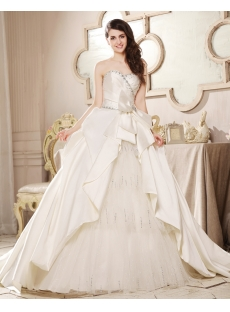 Graceful A-line 2013 Bridal Gowns