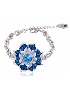 Jingdezhen Blue and White Porcelain Bracelet