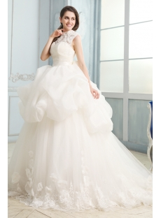 images/201311/small/Modest-High-Neckline-Lace-Ball-Gown-Wedding-Dresses-with-Keyhole-3334-s-1-1383383167.jpg