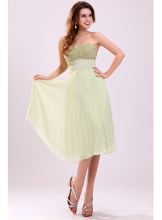 Pretty Sage Beaded Chiffon Plus Size Prom Dress