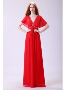 images/201311/small/Red-Fancy-Butterfly-Sleeves-Prom-dresses-with-V-neckline-3578-s-1-1384772553.jpg