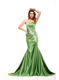 Sage Hater Mermaid 2014 Prom Dress