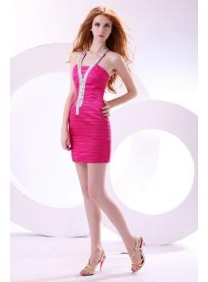 Sexy Hot Pink Mini Club Dress