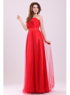 Simple Plain Sweetheart Spring Large Size Evening Dress