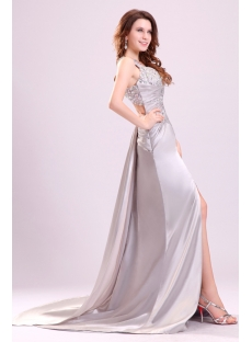 Stylish Silver Sexy Prom Dress in 2014 Spring