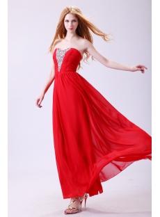 Superior Sweetheart Chiffon Plus Size Prom Dress