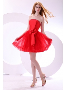 Sweet Red Short Princess Prom Dress