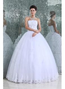 White Pretty fiesta de quince años Dress