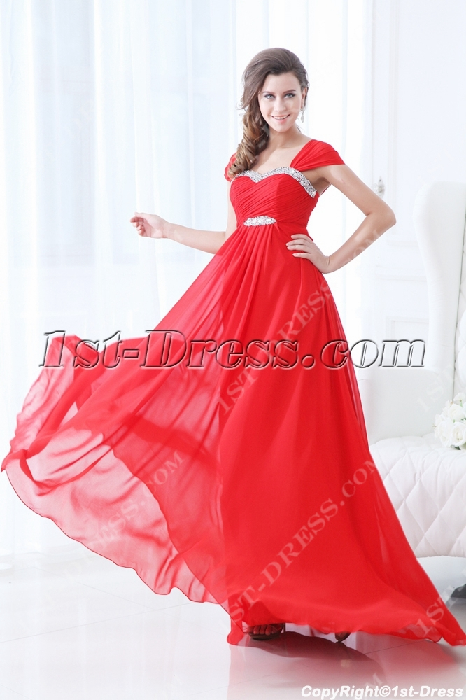 images/201311/big/2014-Red-Straps-Chiffon-Full-Figure-Prom-Dresses-3599-b-1-1384964193.jpg