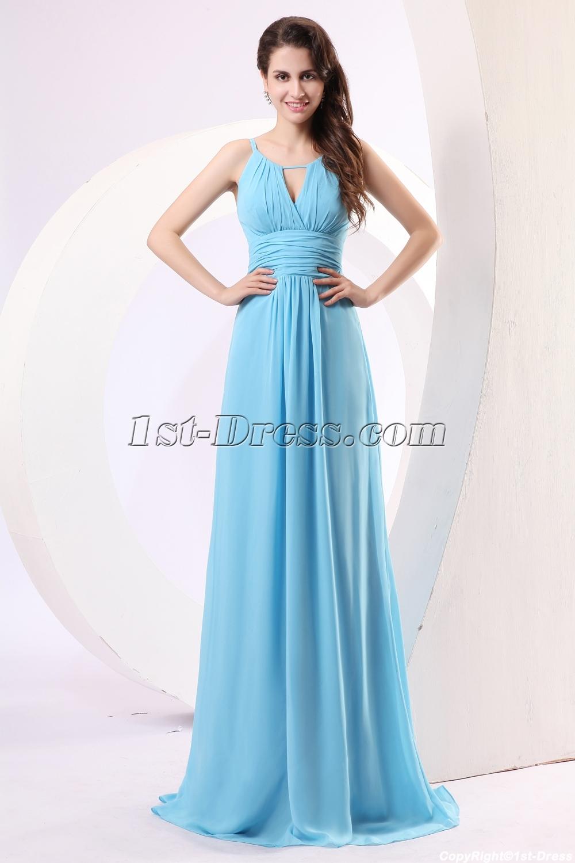 Blue Prom Dresses 2013