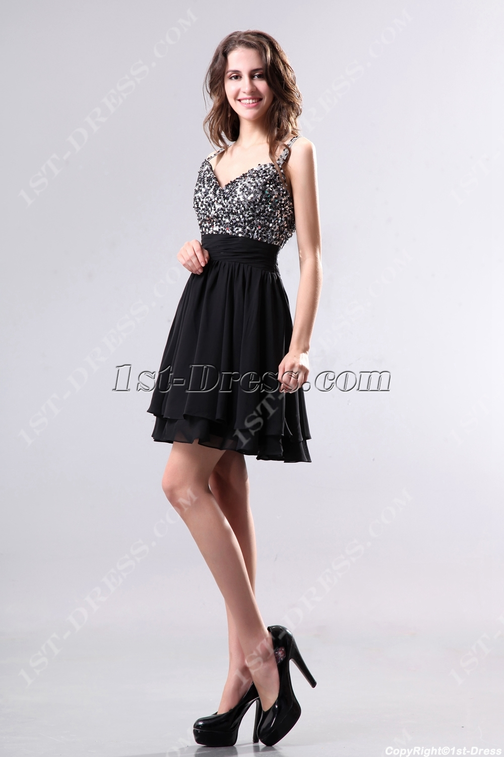 18a256df145 Cute Low Back Little Black Party Dresses (Free Shipping)