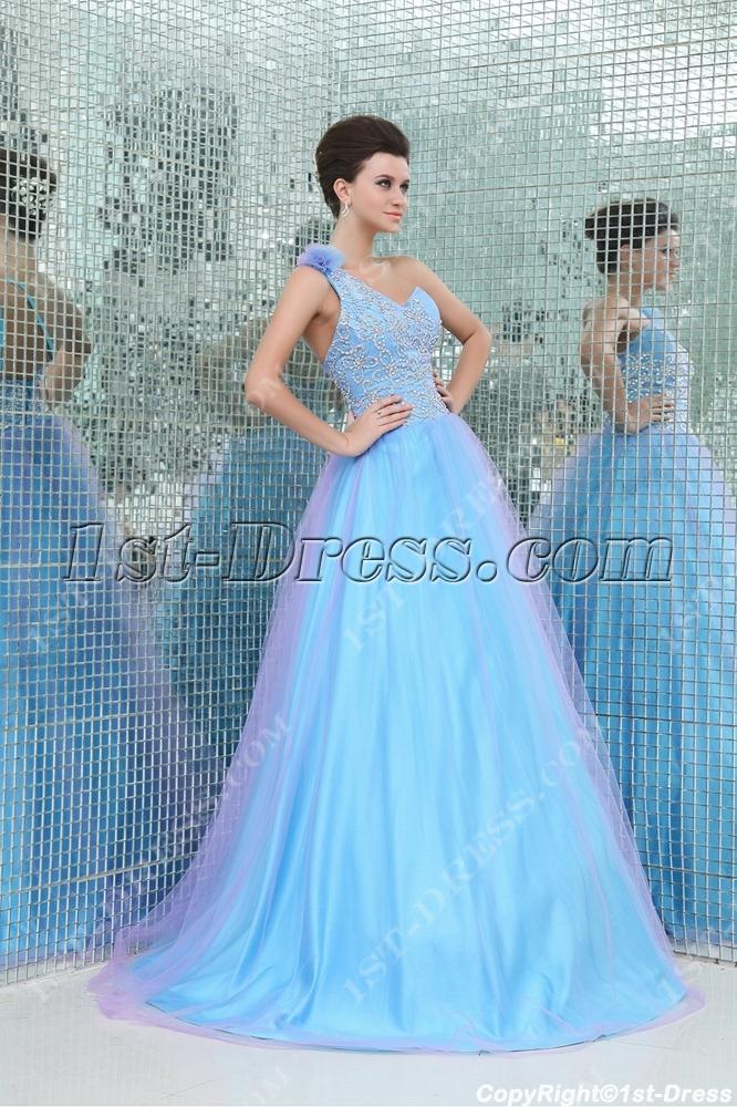 2139651e10 Exquisite One Shoulder 2013 Colorful Vestidos Para Quinceanera (Free  Shipping)