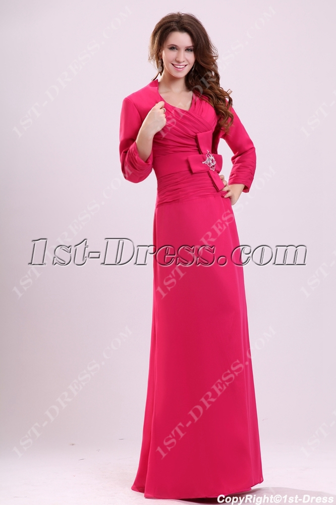 images/201311/big/Hot-Pink-Modest-Long-Dress-for-Mother-of-Groom-with-Jacket-3363-b-1-1383567888.jpg