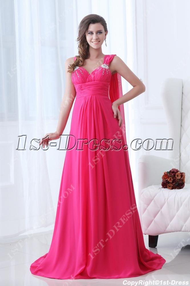 images/201311/big/Hot-Pink-One-Shoulder-Evening-Dress-2014-with-Sash-3634-b-1-1385463701.jpg