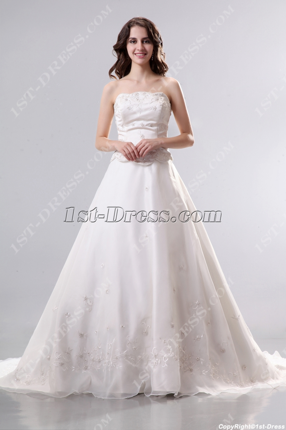 images/201311/big/Ivory-Strapless-Mock-Two-in-One-Organza-Bridal-Gown-3500-b-1-1384269251.jpg