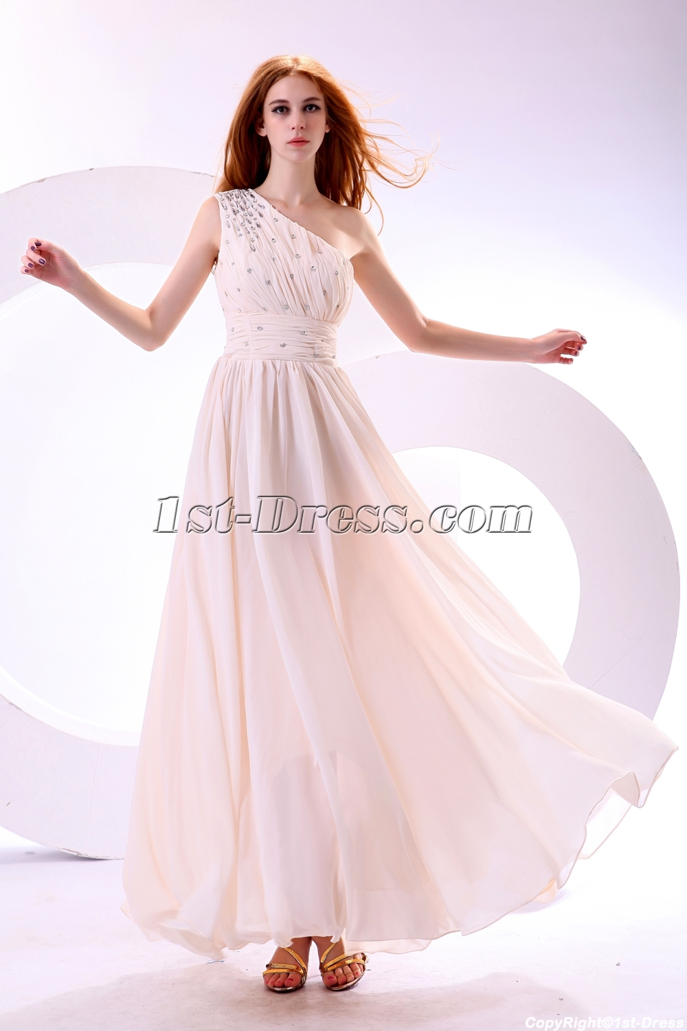 Light Colored Graduation Dresses