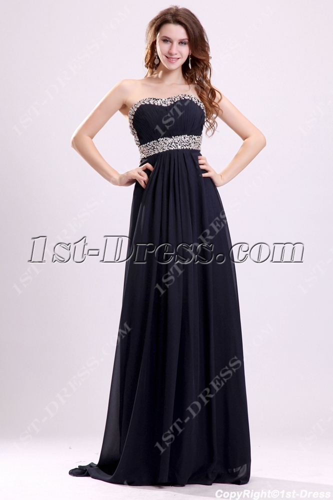 00957f2e00 Sexy Black Soft Chiffon Open Back Maternity Cocktail Dress (Free Shipping)