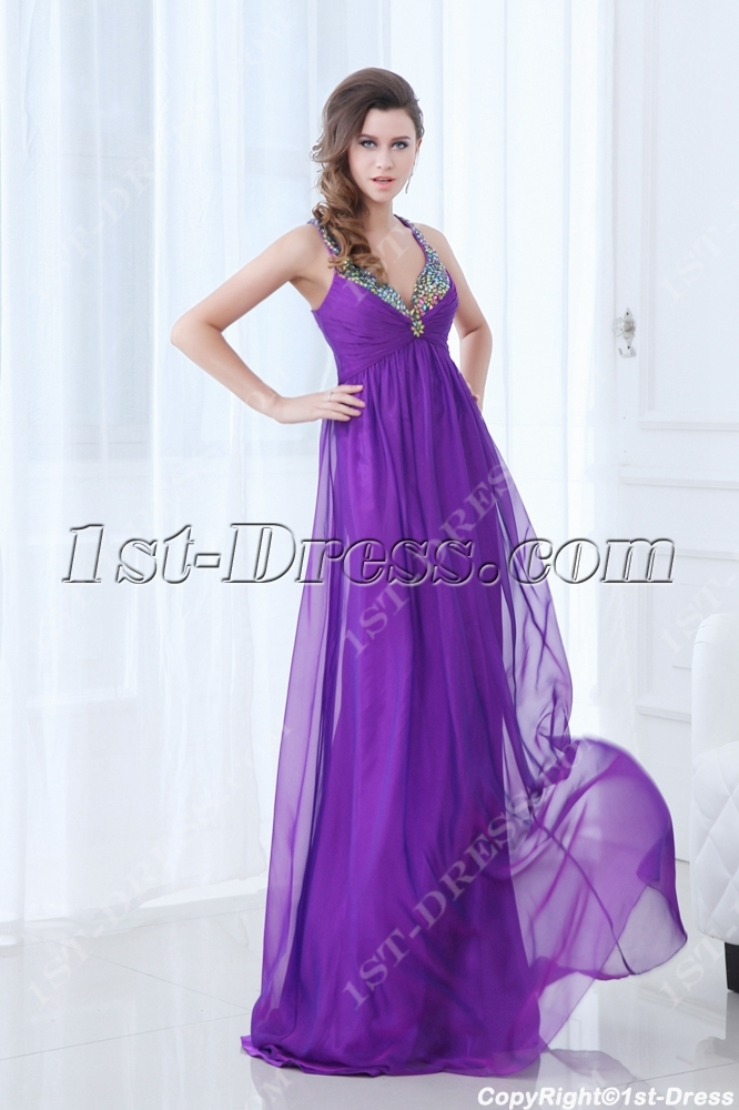 7ec9c9c49d8 Faviana Plus Size Purple Animal Print Prom Dress 9268 French Novelty.  Spaghetti Straps Open Back Purple Plus Size Evening Dress For Beach