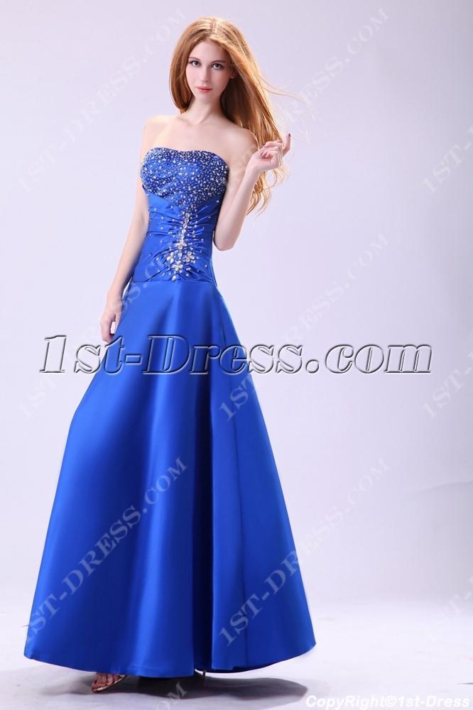 Stylish Royal Blue 15 Vestidos De Quinceanera1st Dress